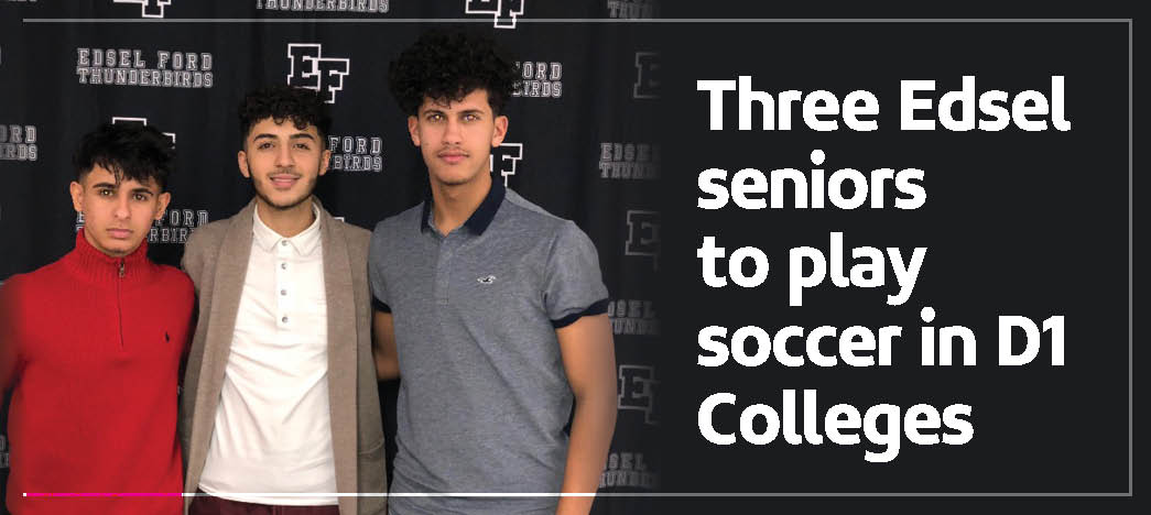 The Yemeni American » Three Edsel seniors to play soccer ...