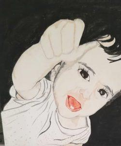 من لوحات رشا